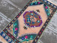 Pastel Antique Ushak Small Rug Bath matPale colors Mat   Etsy Handmade Rugs, Handmade Items, Handmade Gifts, Boho Decor, Bohemian Rug, Bath Rugs, Small Rugs, Kilim Rugs, Rugs On Carpet
