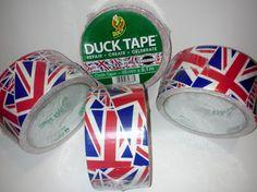 BRITISH UNION JACK DUCK TAPE