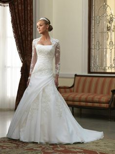 Wedding dresses: catholic wedding dress