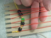 Wampum Weaving: Beaded Belt. A Native American craft for kids