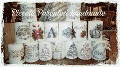 Natale candele personalizzate