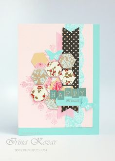 Happily Ever Paper Crafter: Honey Cake Card
