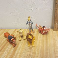 LOT Lion King Figures Simba Rafiki Pumba Scar  #Disney
