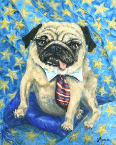 What The Pug Series For The Re Pug Lick Gmluttrellart