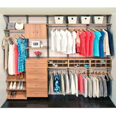 ... Understands That Flexible, Efficient Options Provide Convenience By  Locating Storage At A Variety Of Heights. FreedomRail Cypress Live Reach In  Closet