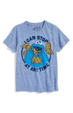 Mighty Fine  Cookie Monster™  T-Shirt (Toddler Boys)  cd7296fe9