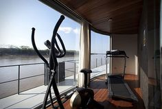 Aria Amazon cruise workout facilities #keepfit