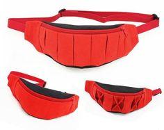 Fanny pack pattern, belt bag travel bag, hip bag - sewing pattern and tutorial