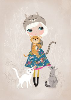 Cat Lover by Rebecca Jones