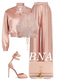 BNA by deborahsauveur on Polyvore featuring Moschino, Martin Grant, Francesco Russo and Yves Saint Laurent