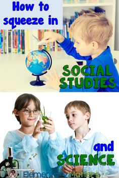 Elementary Matters: How to Squeeze in Social Studies and Science