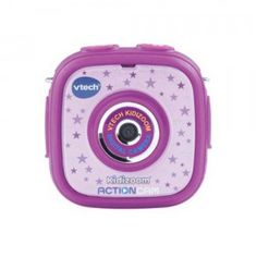 The Kidizoom Action Cam is an on-the-go video and still photo camera designed just for kids, so they can record and share their active exploits.
