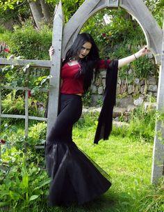 Vampyra Top by Moonmaiden Gothic Clothing UK