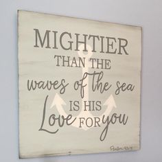- How to Decorate your Space with Wall Pictures If a room in your house lacks character, by simply placing some fine art prints on the walls can actuall. Scripture Signs, Scripture Wall Art, Scripture Quotes, Bible Art, Scriptures, Bible Verses, Rustic Signs, Wood Signs, Christian Wall Decor