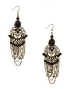 Forever21  Art Deco Earrings