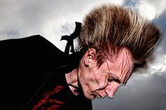 Delightful photos of heavy metal fans, captured in mid-headbang | Dangerous Minds