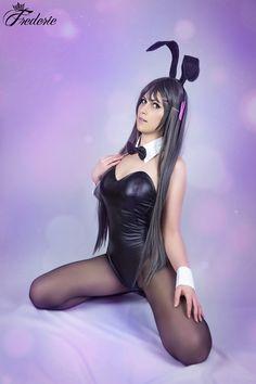 Mai Sakurajima (Rascal Does Not Dream of Bunny Girl Senpai) Mai Sakurajima, Kos, Bunny, Style, Fashion, Rabbit, Moda, Cute Bunny, Fashion Styles