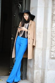 Winter street style. Photographed by Melanie Galea