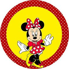 Kit Completo Minnie Vermelha - com molduras para convites, rótulos de guloseimas, lembrancinhas e imagens |Fazendo a Nossa Festa