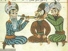 Arabic Dentist Cauterizing Dental Pulp - Dental History