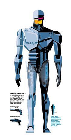 RoboCop 2014 by Marco Hernandez, via Behance