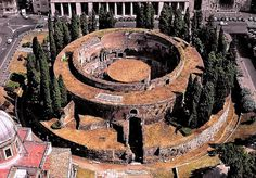 #Roma, Mausoleo di Augusto Damnatio Memoriae...