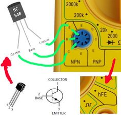 Basic Electronic Circuits, Electronic Circuit Projects, Electronic Schematics, Electronic Parts, Electronic Engineering, Electronics Projects, Simple Electronics, Electronics Components, Basic Electrical Wiring
