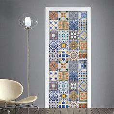 Pellicola adesiva per rivestimento porte interne e - Piastrelle marocchine vendita ...