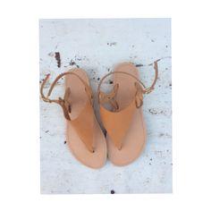 #new #handmade #leather #greeksandals ❤