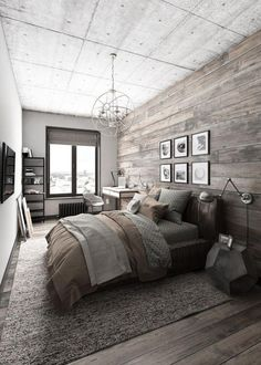 40+ Gorgeous Industrial Bedroom Design Ideas For Unique Bedroom Style