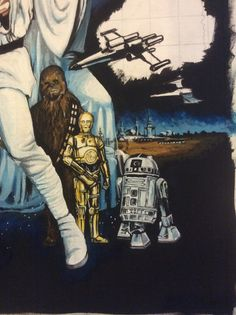Stage 10. Close up of C3PO. It's amazing how the black detailing has helped this!