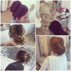 "306 Likes, 8 Comments - Eventstyling Rüya (@hairstyle_by_ruya) on Instagram: ""En cok begenilen Modellerimiz Hairstyle by Rüya Make-up by Miri @mihri87 @visagie_miri …"""