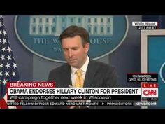WH Denies Endorsement Will Intimidate FBI Investigators