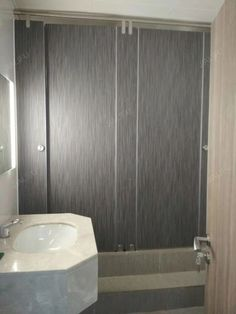 18mm PVC Toilet Partition made by JIALIFU