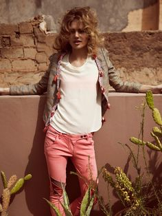 INSPIRATIONS - EXPIRATIONS campagne scotch and soda women summer 2013