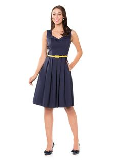 Mascot Dress   Review Australia Dresses For Work, Summer Dresses, Formal Dresses, Review Dresses, Beautiful Outfits, Dress Outfits, Navy, Chic, Australia