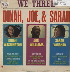 Dinah Washington - We Three