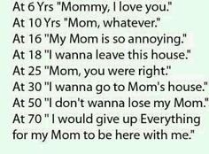 I'm so pissed that I never reached 50 with my mom.  I only got 33 years with her.  :(  Sounds selfish, but sometimes you get the right to be selfish.