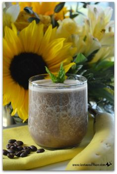 Coffee Banana Protein Smoothie
