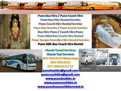 Pune Bus Coach Hire Rental Services - Google Sites https://sites.google.com/site/punebuscoachhirerentalservices Pune Bus Coaches Volvo Mini Bus Luxury Coaches Tempo Traveller Hire Rental Services, Pune/Shirdi/Nashik/Aurangabad/Mumbai Bus/Coach Hire,Pune  punebuscoachhirerental@gmail.com, 09370314751 / 52, www.punebuscoachhirerental.in