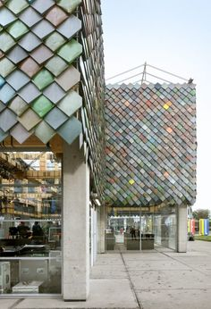 People's Pavilion at Dutch Design Week, Endhoven, Netherlands, by Bureau SLA and Overtreders W