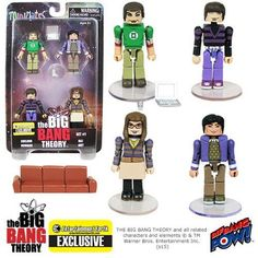 The Big Bang Theory Minimates Set 1 - EE Exclusive
