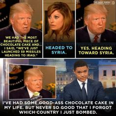 When couldn't stop dissing the Prez for his shitty memory. 11 Times Trevor Noah Was The Most Fuckinilarious Host Of All Time Trevor Noah Quotes, Noah Meme, Funny Relatable Memes, Funny Quotes, Quotes Quotes, Trump Quotes, Life Quotes Love, Dream Quotes, Sassy Quotes