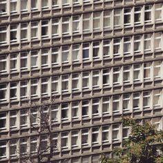 Office building with amazing pattern. Poznan  #podrys #instaphoto #inspiration #city #life #street #love #beautiful #travel #happy #day #landscape #light #wall #building #urban #art #architecture #archilovers #details #design #pattern #geometry #modernism #modernizm #minimal #sun #poznan