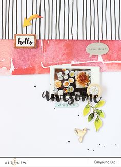 PHOTO + PAPER + STAMP = CRAFTTIME!!!: Altenew Scrapbook Kit Release Blog Hop + Giveaway