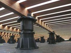 Pedestal para suelo técnico ajustable / para terraza DPH Buzon Pedestal International