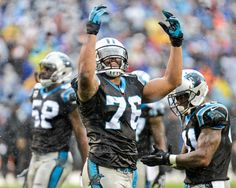 Image from Jeremy Igo - the Kraken is released (Greg Hardy in the rain) - Panthers vs Saints - 12-22-13 - Panthers win