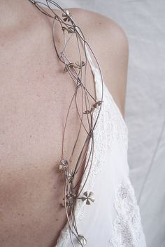 Necklace by PATRICIA GALLUCCI-ARGENTINA, via Flickr