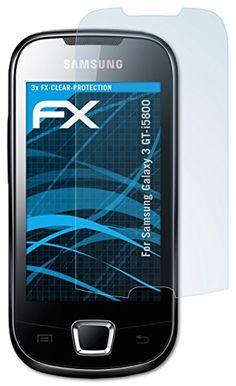 atFoliX FX-Clear, Samsung Galaxy 3 (GT-I5800) - Protector de pantalla (Samsung Galaxy 3 (GT-I5800), Samsung, Teléfono móvil/smartphone, Transparente) - http://www.tiendasmoviles.net/2016/09/atfolix-fx-clear-samsung-galaxy-3-gt-i5800-protector-de-pantalla-samsung-galaxy-3-gt-i5800-samsung-telefono-movilsmartphone-transparente/