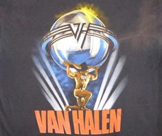Van Halen, 1986 concert t shirt from the 5150 tour. Original vintage t shirt. Used vintage in good condition with medium to heavy wear. Vintage Rock T Shirts, Vintage Tees, Van Hagar, Wonder Art, Band Posters, Art Music, Concerts, Rock Bands, Album Covers